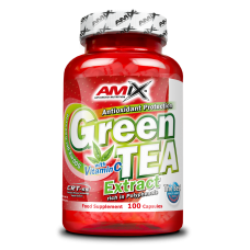 GREEN TEA EXTRACT WITH VITAMIN C 100 CAPS