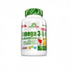 GREENDAY SUPER OMEGA 3-6-9 90 CAPS