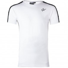 Chester T-shirt - White/Black