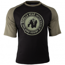 Texas T-Shirt - Black/Army Green