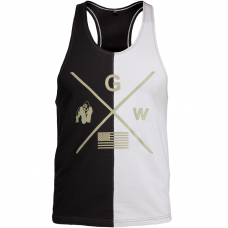 Sterling Stringer Tank Top - Black/Gray