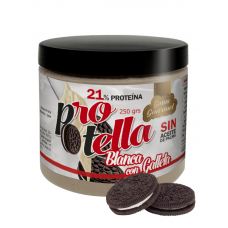 PROTELLA BLANCA CON GALLETA 250GR